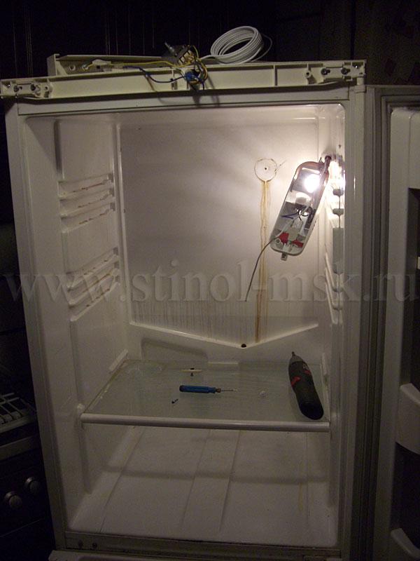 Замена терморегулятора в холодильнике норд своими руками